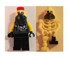 LEGO 70643 - Ninjago - Chopper Maroon & Skeleton - MINI FIG / MINI FIGURES