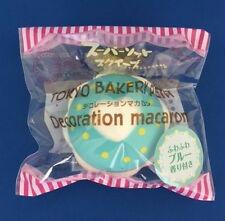 Squishy Tokyo Bakery Petit Decoration Macaron(Fluffy Blue) Super Soft Squishy