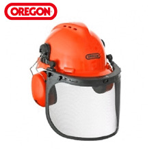 OREGON YUKON SAFETY HELMET WITH PROTECTIVE EAR MUFF AND MESH 562412