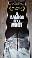 LE CAMION DE LA MORT battletruck  ! affiche cinema model rare format pantalon