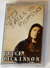 BRUCE DICKINSON - BALLS TO PICASSO - Musicassetta Cassette Tape MC K7 - Sealed