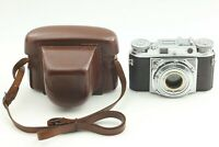 <NEAR MINT> Voigtlander PROMINENT Chrome Body Only w/Leather Hard Case by FedEx