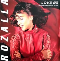 "Rozalla 12"" Love 92 (Born To Love You) - France (VG+/EX)"
