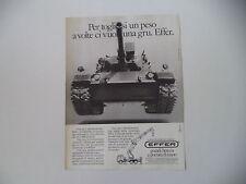 advertising Pubblicità 1984 GRU EFFER