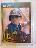 1997 BBM Japanese Baseball Card Orix Blue Wave Ichiro Suzuki MVP