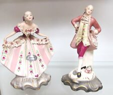 Chantilly Georgian Era Porcelain Figurines