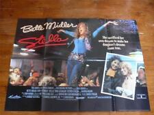 Stella ~ Original Double Sided Quad Poster 1990 ~ Bette Midler / John Goodman