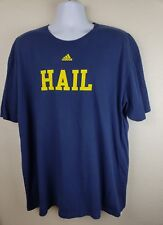 Adidas Men's Michigan Wolverines HAIL The Go To Tee Shirt Size 2XL - Free Ship!