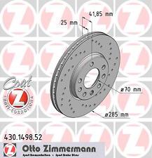 Disco de Freno (2 Piezas) Disco de Freno Sport Coat Z - Zimmermann 430.1498.52