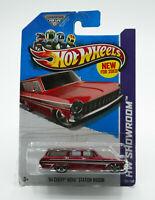 Hot Wheels HW Showroom '64 Chevy Nova Station Wagon Red 2013 New Free Shipping