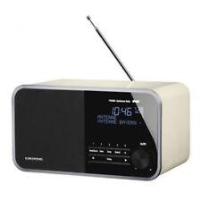 GRUNDIG DTR WB 3000 DAB+ UKW Digital Radio weiß 30 Watt  AUX Digital Tuner