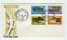 Papua New Guinea A49 FDC 1978 Fauna reptiles