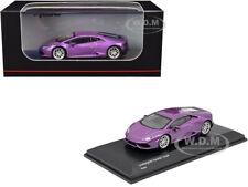 Lamborghini Huracan Coupe Purple Metallic 1/64 Diecast Model Car by Kyosho Ks070