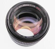 Canon FD 85mm f1.8 S.S.C. #18649