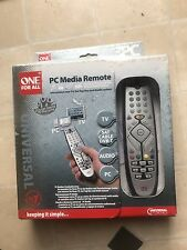 One For All URC 9040 PC Media Remote Silver Universal Remote Control