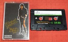 MICHAEL JACKSON - CASSETTE TAPE - BAD - THOMSUN ORIGINAL WITH DIFFERENT COVER
