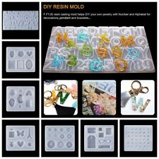 Jewelry Making Tool Handmade Craft DIY Resin Mould Silicone Molds Keychain Mold
