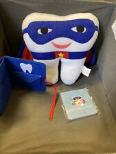 Tickle & Main Tooth Fairy Superhero Kit Pillow Keepsake Pouch