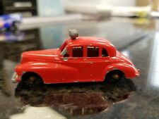 Vintage 1960s RED BUDGIE MODELS No. 27 Fire Chief Car Original made in England