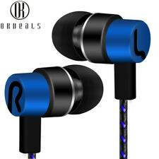 3.5mm Phone Bass Earpiece In-Ear Earphone Earbuds HiFi Headset Stereo