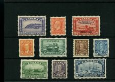 nice lot of 1930's issues MH Catt $200+ mint Canada