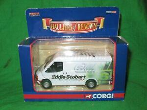 Corgi CC07807 Ford Transit Eddie Stobart Van 1/43rd scale diecast VGC boxed