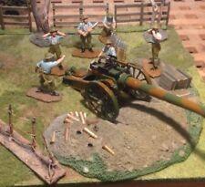 Painted Lead German 6-10 Pieces Vintage Toy Soldiers