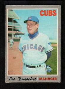 LEO DUROCHER 1970 O-PEE-CHEE CHICAGO CUBS # 291