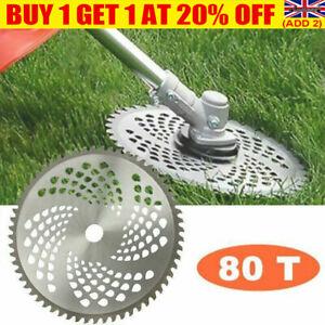 80 Teeth Grass Brush Trimmer Cutter Head Steel Garden Strimmer Mower Blade BAUK