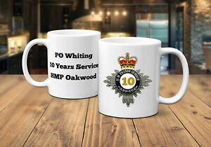 Years of Service (10, 20, 30 and 40 Years) HM Prison Service Mug