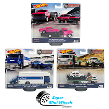 2020 Hot Wheels Car Culture Team Transport J Case Set of 3 Cars【In-Stock】