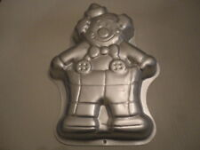 Wilton Clown Cake Pan Mold 1993 Birthday Circus Vintage with Instructions