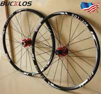 BUCKLOS Mountain Wheelset 26/ 27.5/29 inch Carbon Hub Clincher Disc Brake Wheels