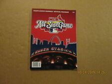 MLB St.Louis Cardinals Vintage 2009 All Star Game Official Baseball Program