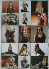 """AVRIL LAVIGNE """"15 SHOT COLLAGE"""" ASIAN POSTER-Great Shots Of Our Favorite Rocker!"""