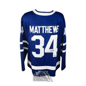 Auston Matthews Autographed Toronto Maple Leafs Fanatics Hockey Jersey Fanatics