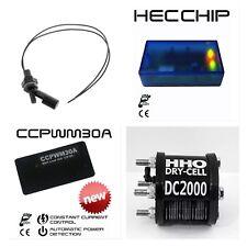 KIT IDROGENO HHO DC2000 X MOTORI 1400 A 2400+ PWM30A + EFIE Chip + SENSOR AGUA