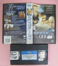 VHS film REDEMPTION OF THE GHOST 2001 EAGLE PICTURES 49860581ENV (F116) no dvd
