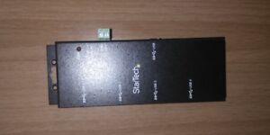 Concentrador Usb 3.0 SuperSpeed 4 puertos StarTech SIN ALIMENTADOR