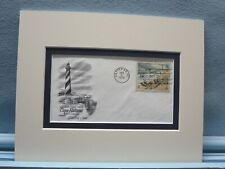 Cape Hatteras Lighthouse of North Carolina & First Day Cover of its own stamp