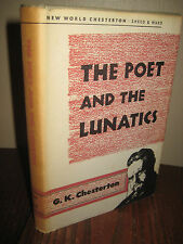 1st Edition thus POET AND THE LUNATICS  G.K. Chesterton REISSUE Mystery STORIES