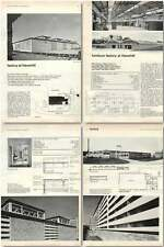 1960 Radio And Electronic Component Factory At Haverhill Design, Plans