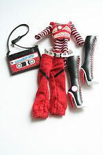 MONSTER High Fashion Ghoulia Yelps Basic 1. SERIE WAVE 1 Outfit Abbigliamento