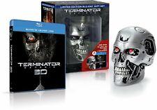 TERMINATOR: GENESIS EDICION LIMITADA BLU-RAY + 3D + DVD + CALAVERA PRECINTADO