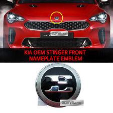 KIA OEM 86330J5100 Stinger Front Nameplate Emblem for KIA Stinger 2017-2018+