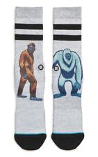 Stance Socks Bigfoot Vs Yeti Men's Size L 10524