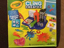Crayola Cling Creator Design & Make Custom Clings New In Box In Original Package
