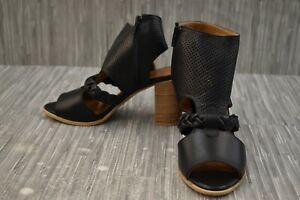 Spring Step Farrah Sandal, Women's Size 6.5-7/EU 37, Black NEW