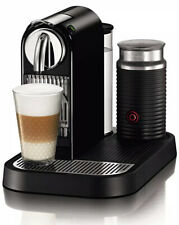 Nespresso Citiz D121 Espresso Machine With Aeroccino Milk Frother