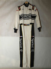 Simpson MTO.23 NASCAR Sprint Cup Series Racing Suit Medium 2 Layer White - NEW